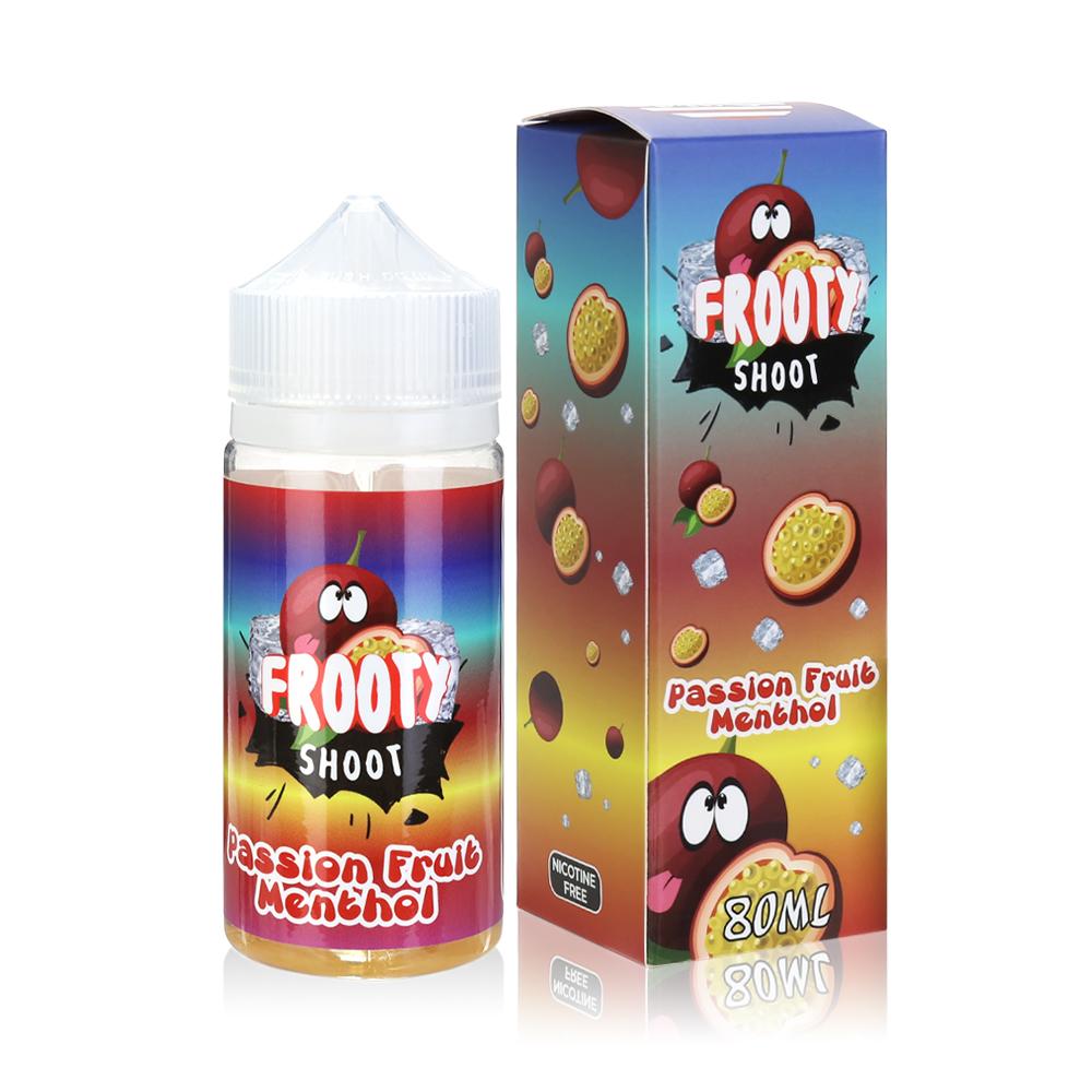 80ML 0MG E-cig E-liquid in 100ML Bottles American Eliquid-Passion Fruit Menthol Flavour