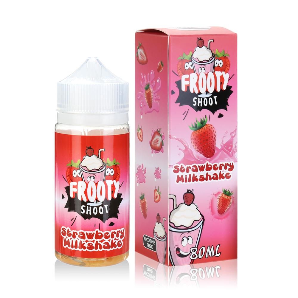 80ML 0MG E-cig E-liquid in 100ML Bottles American Eliquid-Strawberry Milkshake Flavour