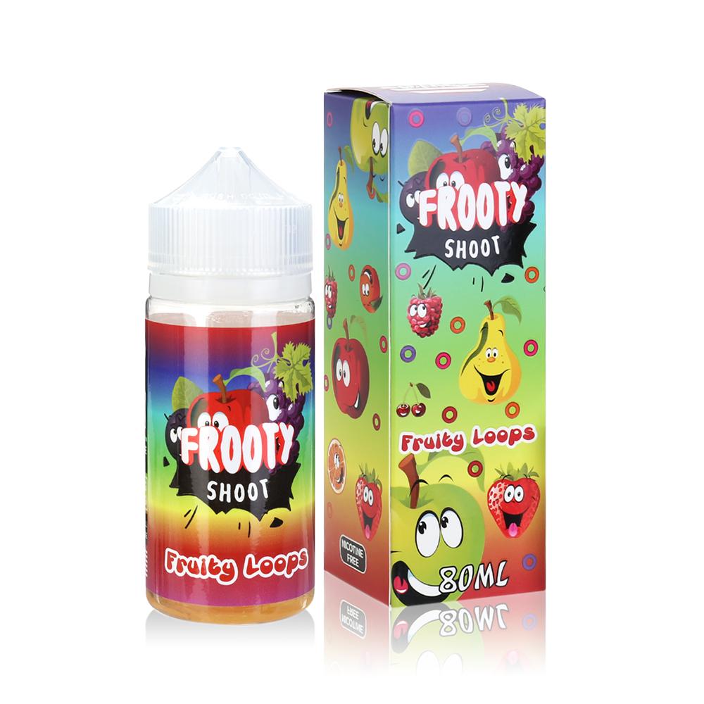 80ML 0MG E-cig E-liquid in 100ML Bottles American Eliquid-Fruity Loops Flavour