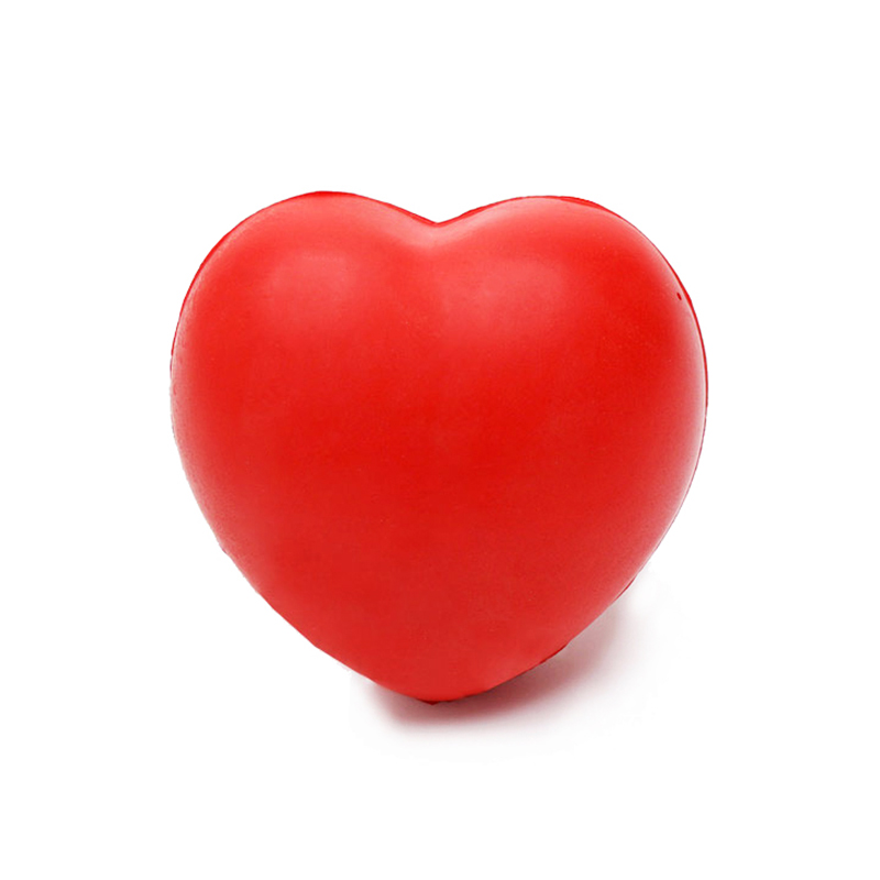 Heart Stress Reliever Ball Red Baby Toy Wedding Decoration