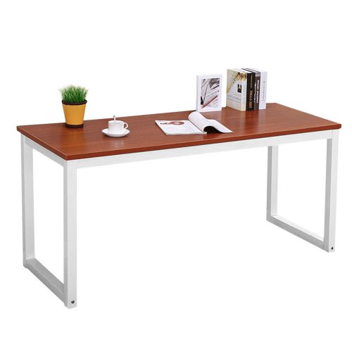 120x60cm Computer Desk Desktop Working Study Table Dining Gaming Table for Home Office