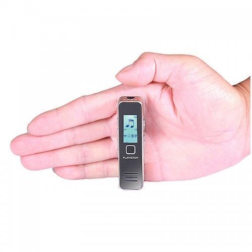 Digital Audio Voice Recorder Portable Rechargeable Sound Audio Voice Recorder