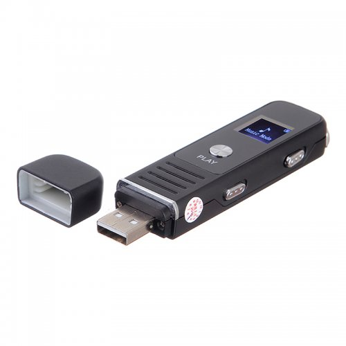 Digital Voice Recorder with Playback Small Tape Recorder Supprt TF Card for Meetings Interviews