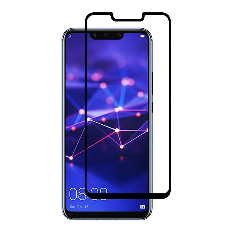 Narrow Black Edge Tempered Glass Cellphone Screen Protector Film for Huawei Mate 20 Pro