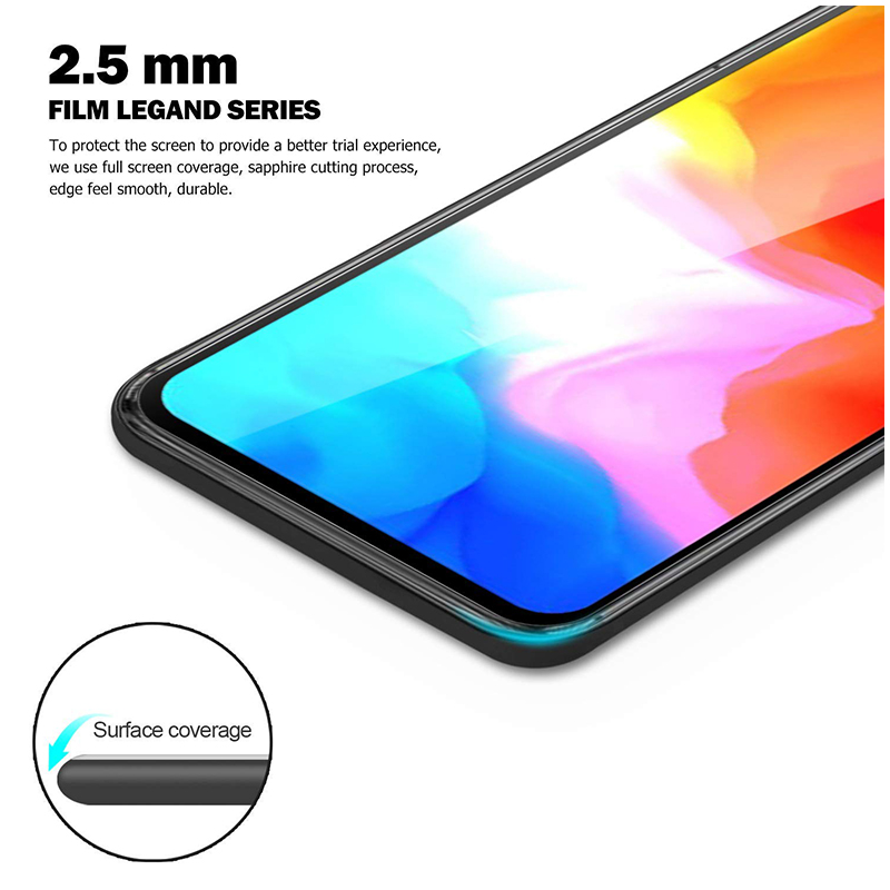 3D Tempered Glass Screen Protector Phone Protective Film for OnePlus 6T