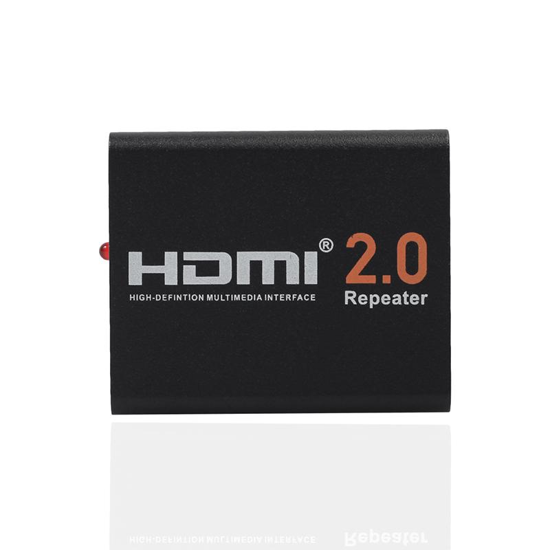 60M HDMI 2.0 Splitter Repeater HDMI Extender Signal Amplifier Booster Adapter 4K/2K@60Hz HDCP 2.2 EDID