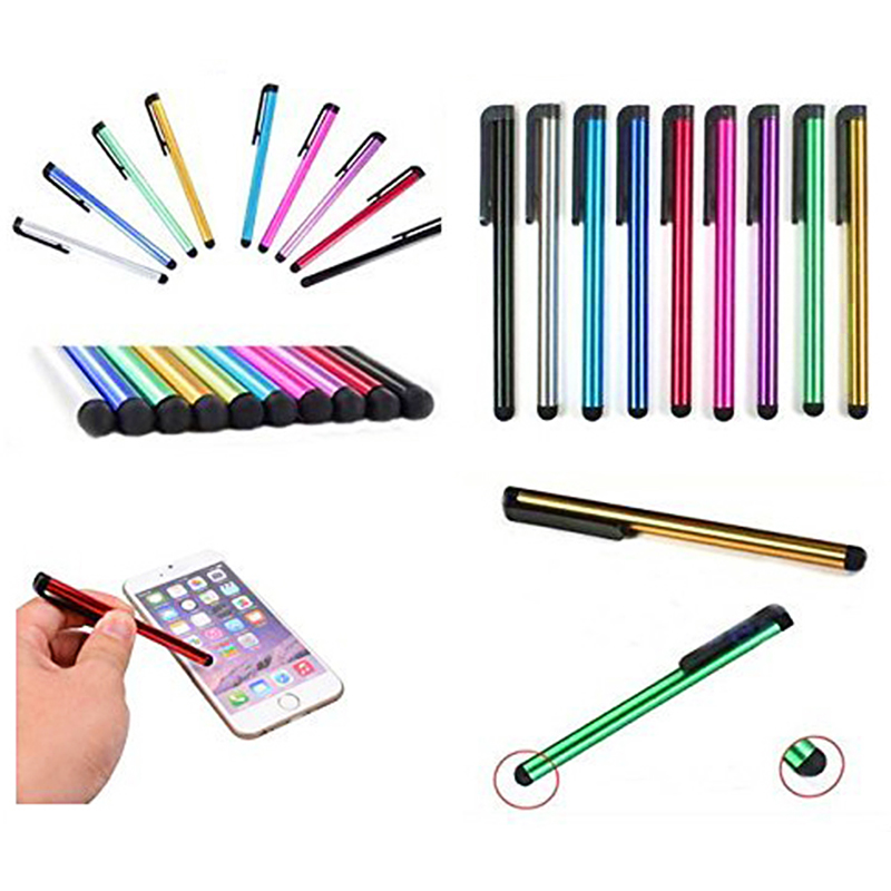 7.0 Touch Screen Stylus Pen Universal Multi-function Portable Capacitor Pen for Smart Phone/Smart Tablet - Silver