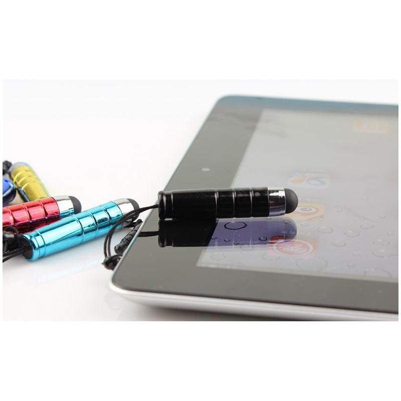 100pcs Plastic Bullet Stylus Pen for Capacitive Touch Screen Cellphone Tablet for Random Color