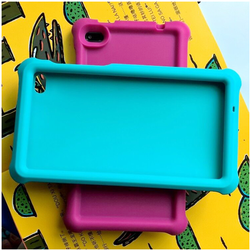 Tablet Protective Case Shock Absorption Cover for Lenovo Tab 7 TB-7304 - Blue