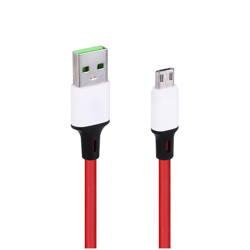 1m Micro USB Android Charger Cable - Red
