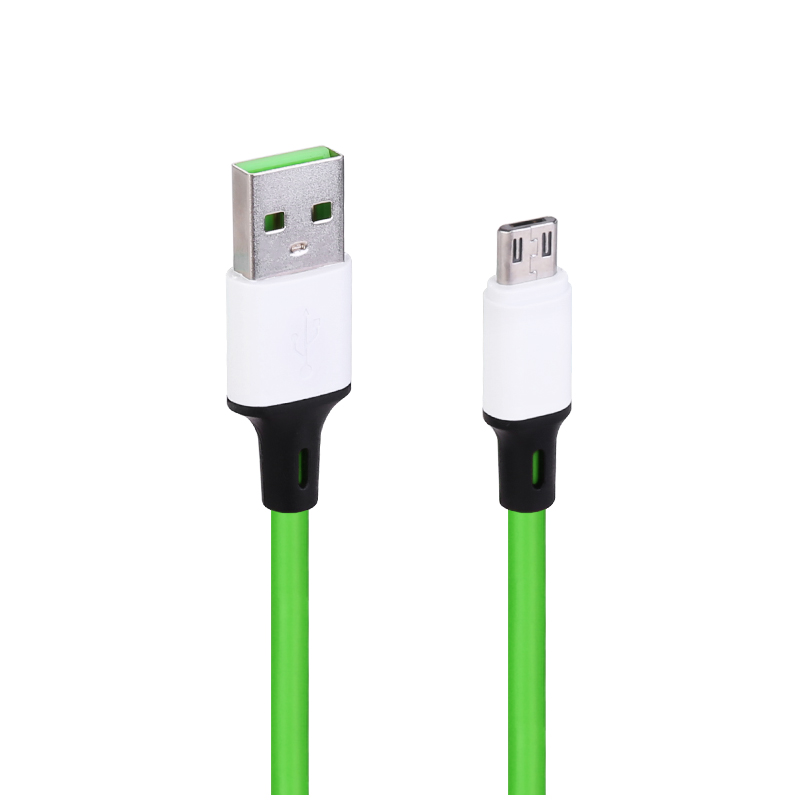 1m Micro USB Android Charger Cable - Green