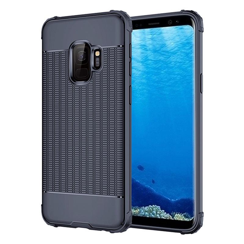 Ultra Thin TPU Soft Case Grainy Matte Phone Case for Samsung Galaxy S9 - Blue