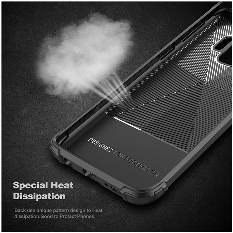 Ultra Thin TPU Soft Case Grainy Matte Phone Case for Samsung Galaxy S9 - Black