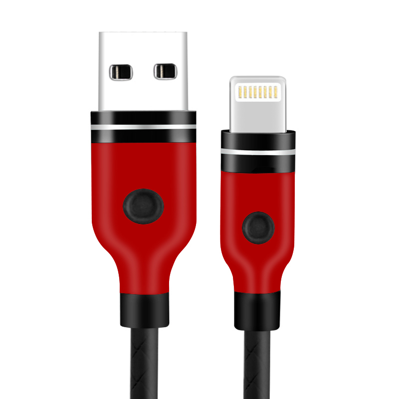1M Lightning Charging Cable for iPhone Cellphone iPhone Air/Mini/Pro/iPod Touch - Black
