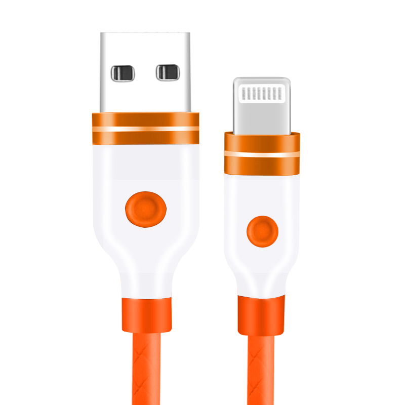 1M Lightning Charging Cable for iPhone Cellphone iPhone Air/Mini/Pro/iPod Touch - Orange