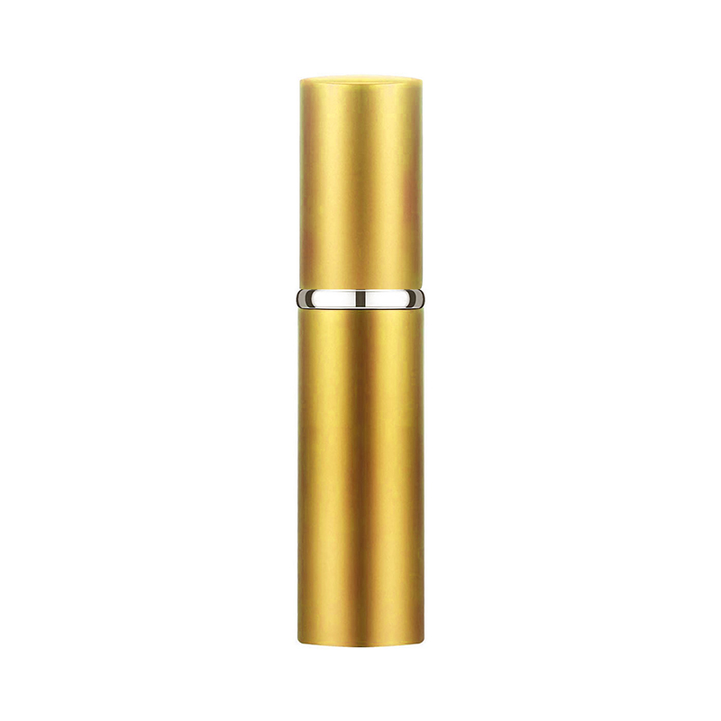 5ml Portable Refillable Perfume Atomiser Atomizer Aftershave Travel Spray Bottle Pump Miniature Sub-bottle - Gold