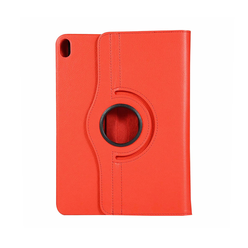"360 Degree Rotating Smart Leather Stand Cover Case with Auto Sleep/Wake for Apple iPad Pro 12.9"" 2018 - Red"