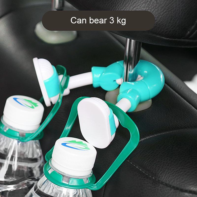 Cartoon Foot Universal Car Hooks Car Seat Hanger Hook - Green