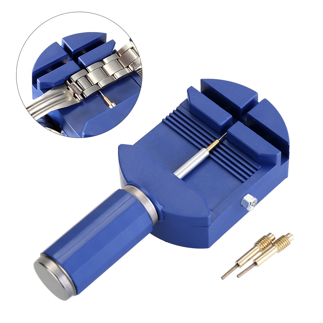 Watch Link Remover Tool Band Slit Strap Bracelet Pin Adjuster Repair Tools - Blue