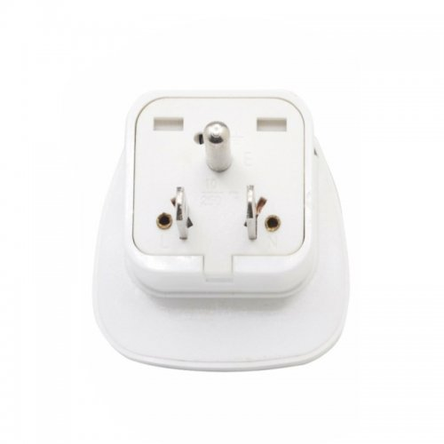 Universal USA US Plug Adapter Portable Travel Power Charger Converter with Grounded Surge Protection
