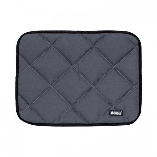 Non Toxic Summer Cooling Mat Dog Beds Mats Pet Ice Pad Cold Silk Moisture Proof Mattress Cushion Grey - M