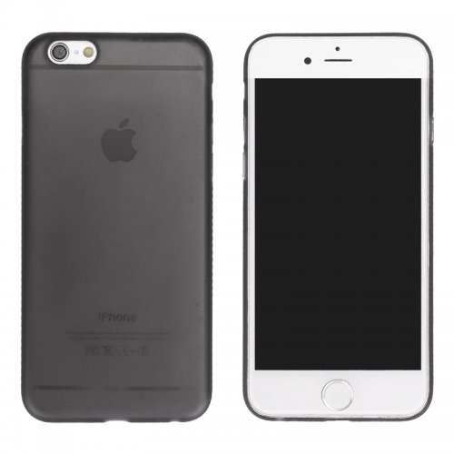 Newest PC Frosted Back Cover Ultra Thin Shell Case for iPhone 6- Black
