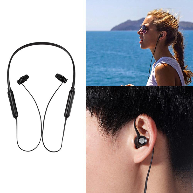 QC68 Sports Neck-mounted Running Universal Bluetooth Headset in-Ear Earphone Wireless Headset