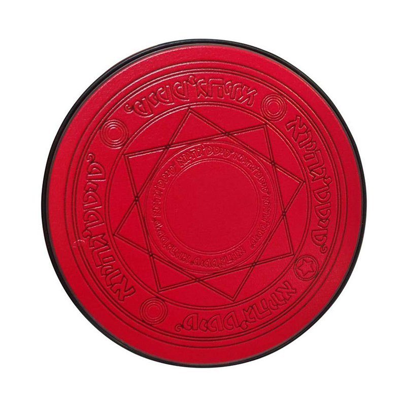 Qi Standard Magic Array Wireless Charger Fit for iPhone 8/8 Plus/X XS/Max/XR/Samsung/Huawei - Red