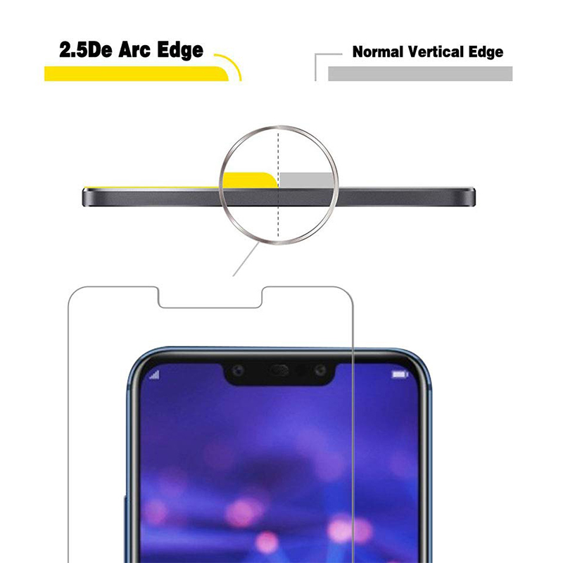 Mobile Phone Screen Protector Screen Ward High Sensitivity Tempered Glass for Huawei Mate 20 Lite