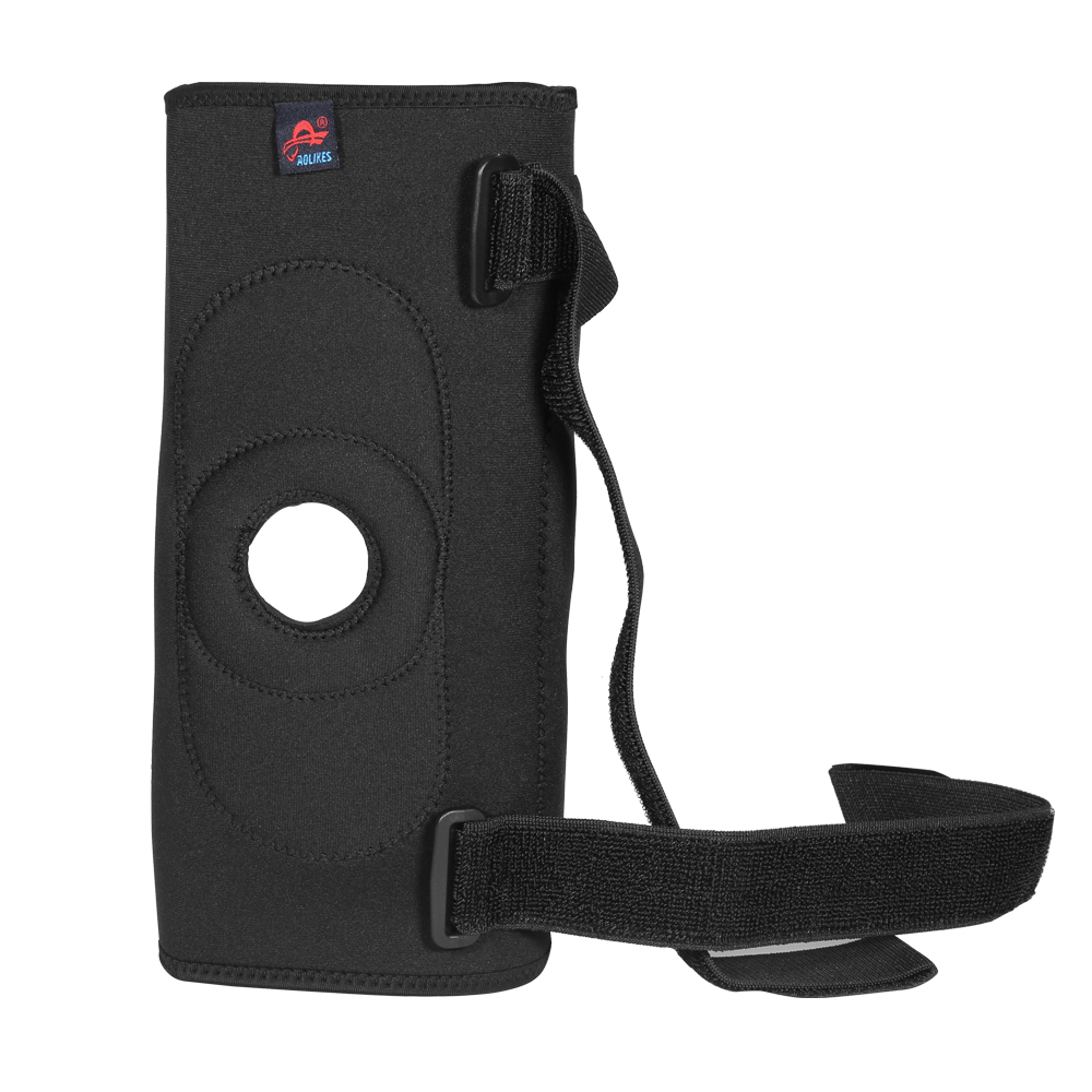 Medical Grade Hinged Neoprene Double Steel Plate Knee Brace Support Guard Stabilizer Strap - M