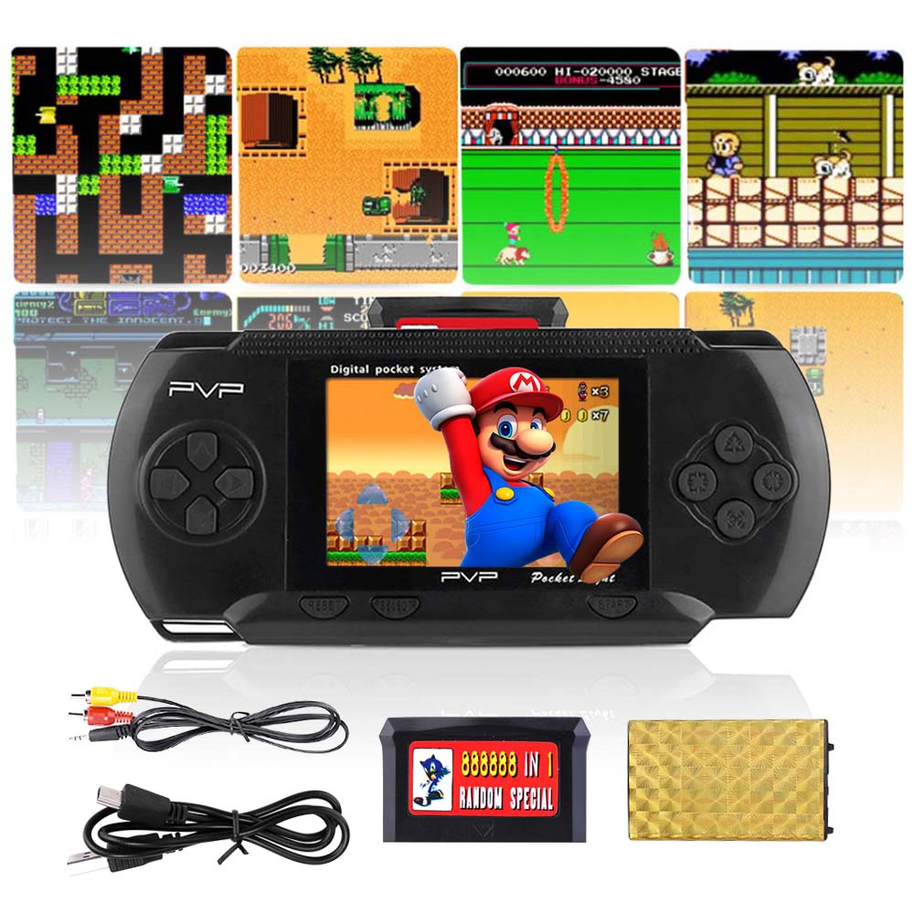 Handheld Portable PXP PVP Classic Games Console Retro Megadrive DS Video Game
