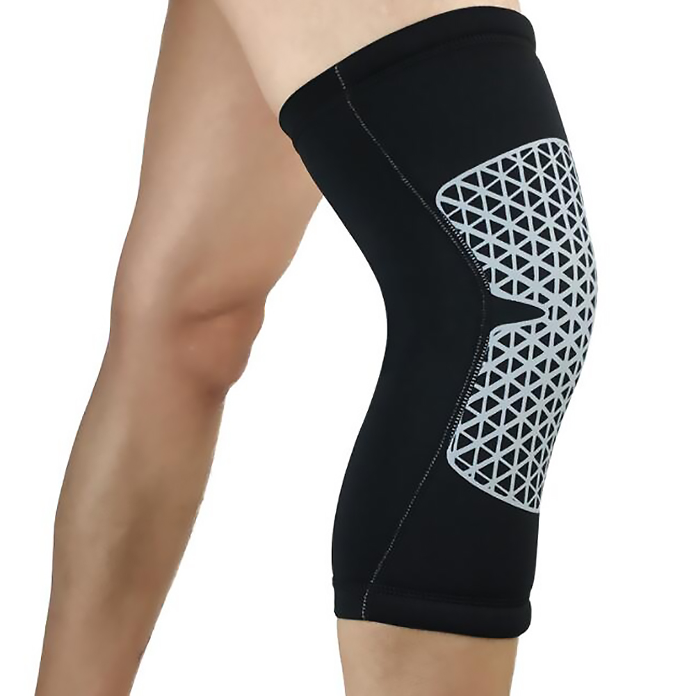 Knee Support Strap Arthritis Pain Relief Sport Gym Open Patella Protect Knee Pad - M