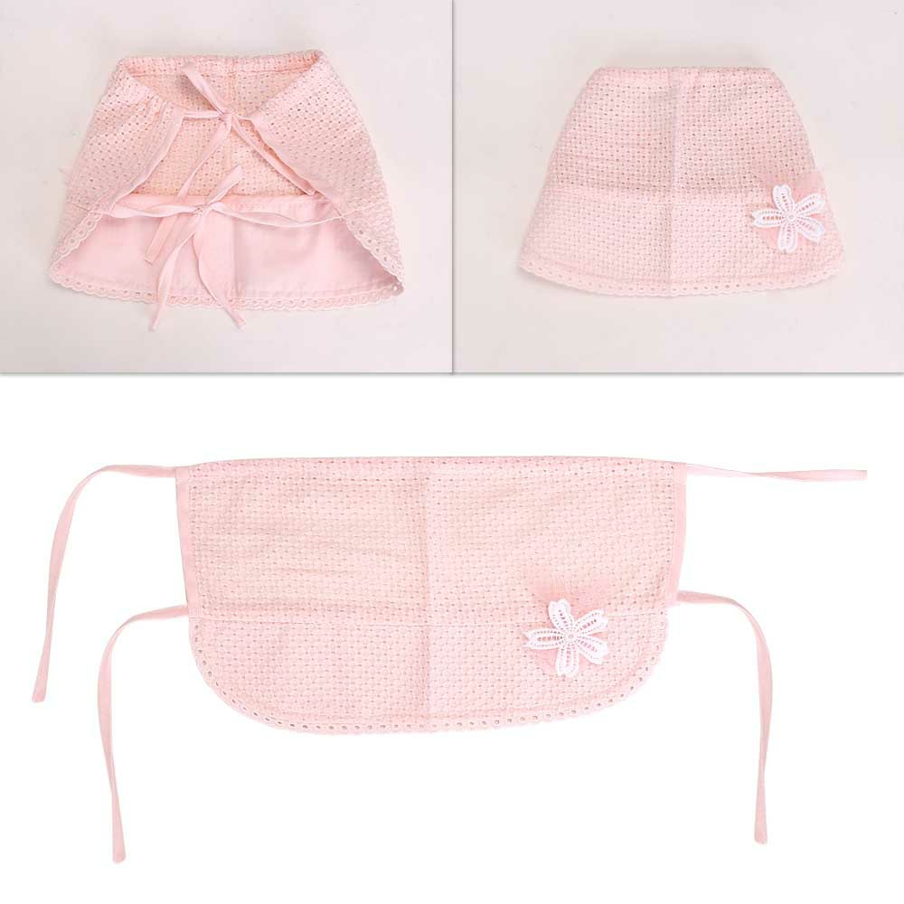 Spring and Summer Newborn Toddlers Cute Hats Baby Cotton Cap Thin Sun Hat - Pink