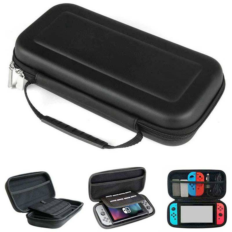 EVA Protective Soft Case Travel Carrying Storage Bag Handbag Pouch for Nintend Switch