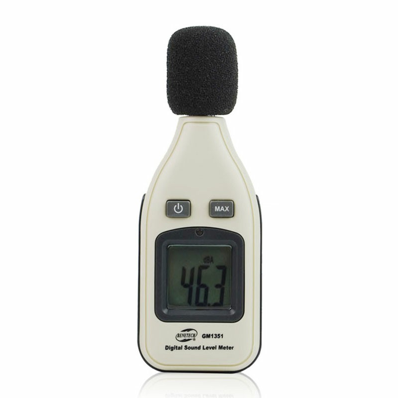 GM-1351 Mini Digital Sound Level Meter Decibel Meter Logger Noise Audio Detector Digital Diagnostic Tool