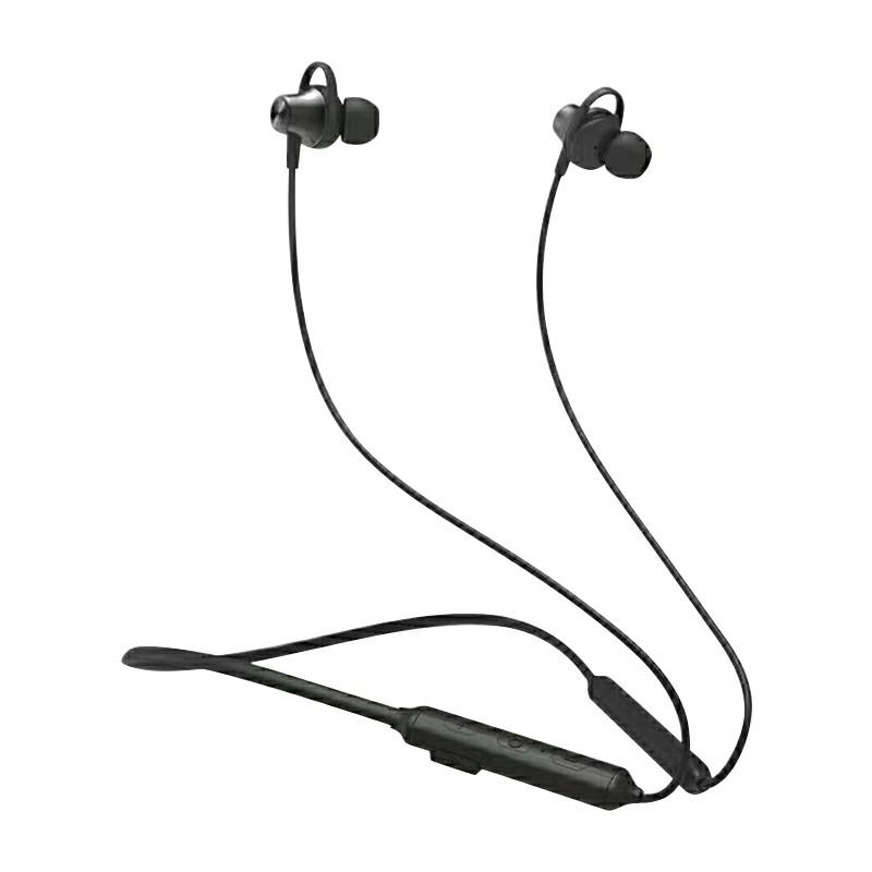 BYZ-B10 Wireless Bluetooth Stereo Headphones Hands-free Sport Headset In-Ear Bluetooth Earpiece - Black