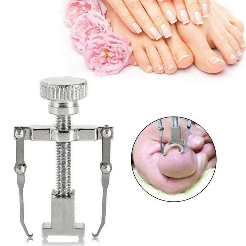 Ingrown Toenail Manicure Pedicure Foot Care Correction Brace Tool Toe Clipper Foot Nails Care Tool - Silver
