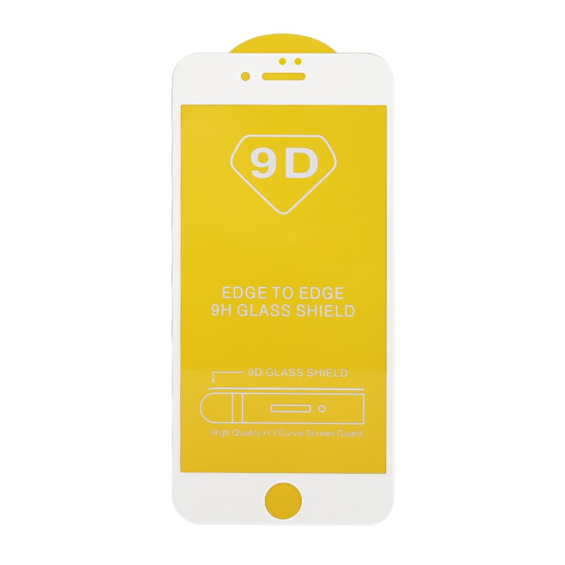 Full Cover Screen Protector Screen Protective Film Tempered Glass for iPhone7/8 - White