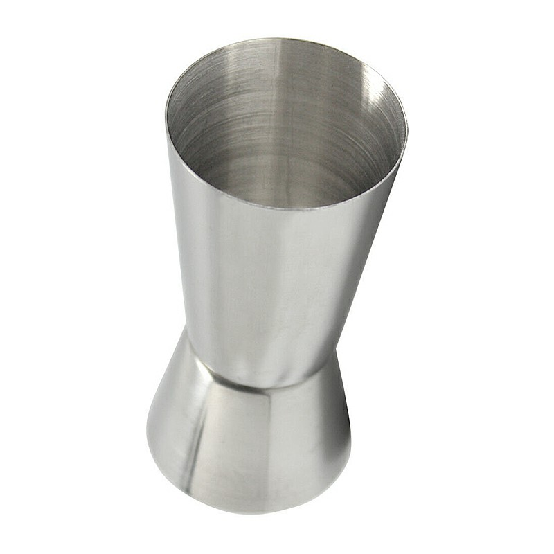 Stainless Steel Jigger Single Double Shot Shorts Drink Spirit Measure Cup Cocktail Measure Cup 25/50ML