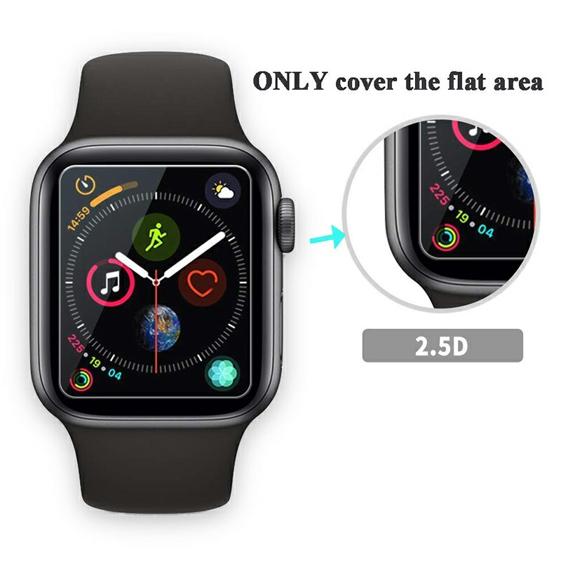 Smart Watch Screen Protective Film 0.26mm Tempered Glass Film for Apple Watch - 44mm