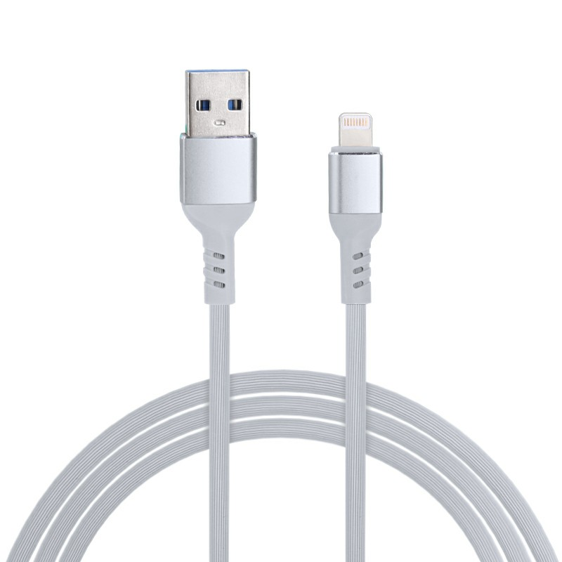 Apple Lightning Charging Cable iPhone Charger Cable Lightning Data Cable - Grey