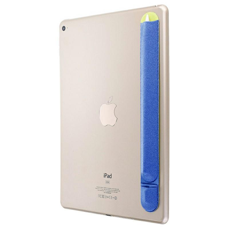 3M Glue Apple Pencil Protective Case Cover Non-slip Cloth Holder Sticker - Blue