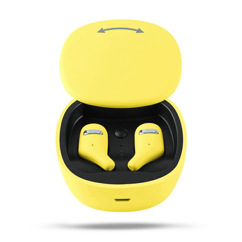 A2 Bluetooth 5.0 TWS Wireless Earphones Bluetooth Headphones Mini Earbuds Hifi Headset - Yellow