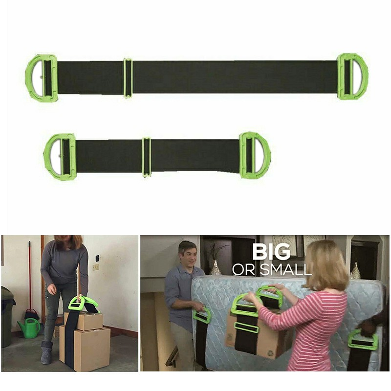 Adjustable Hand Lifting Moving Straps Home Appliance Furniture Straps Mattress Belts Clever Carry