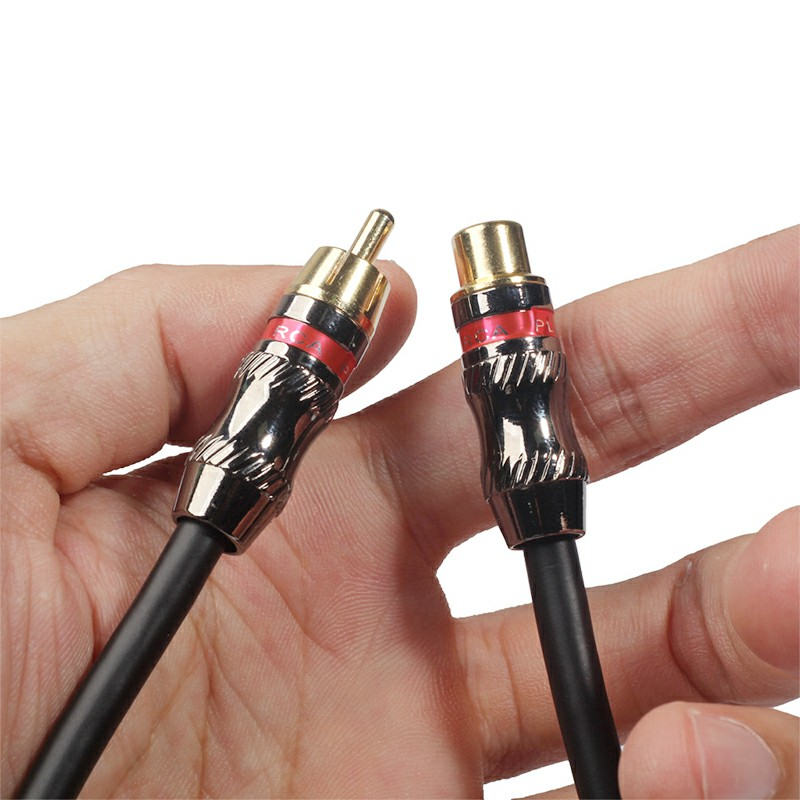 TR026MF-03 RCA Male to Female Audio Video Extension Cable - 0.3m