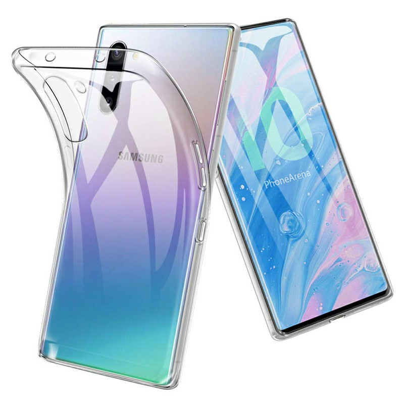 Ultra Thin Phone Case Soft TPU Transparent Back Case for Samsung Galaxy Note 10