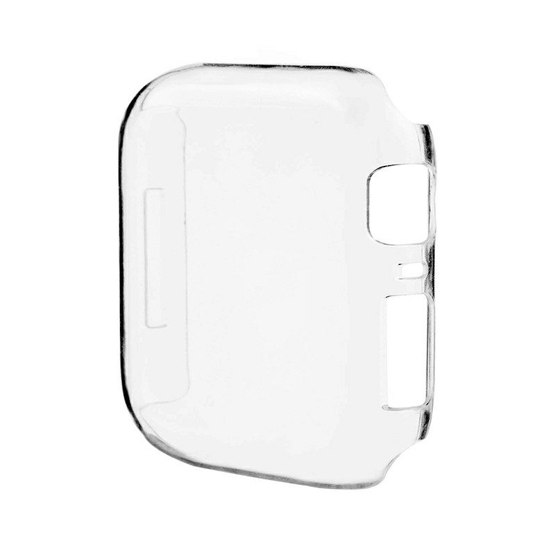 Apple Watch Clear Hard PC Case Cover Screen Protector for iWatch Series 4 - 44mm