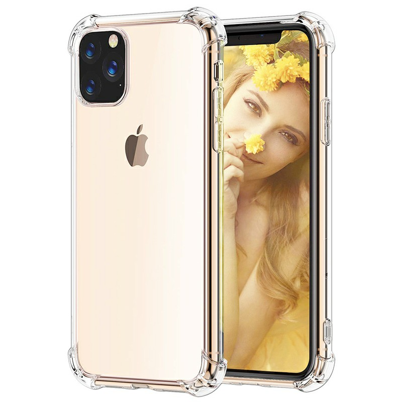 Crystal Clear Phone Case Soft Skin Silicone Protective Case Scratch Resistant Case for iPhone 11 Pro Max