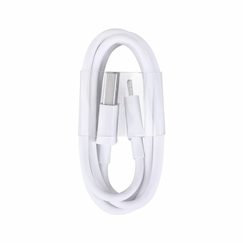 Soft TPE Lightning Cable Data Charging Cable iPhone Charger Cable for iPhone 11 XR XS Max X - 1m