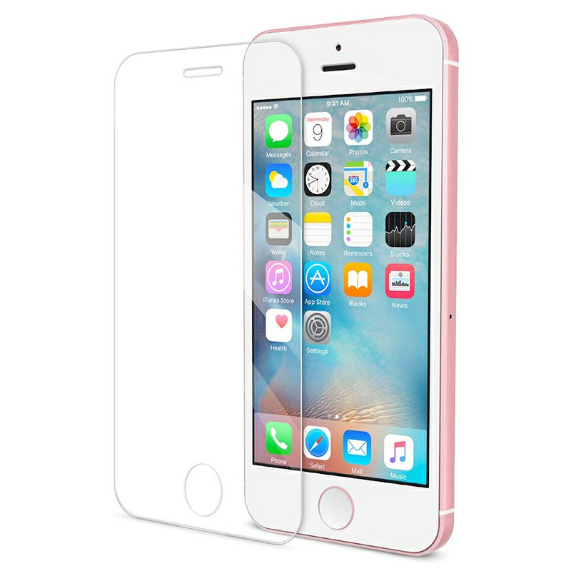 iPhone Tempered Glass Screen Film Screen Protector Screen Protective Film Screen Protector Glass for iPhone SE